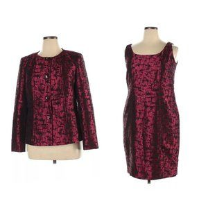 Doncaster Collection 14/16 Sheath Dress w/ Jacket